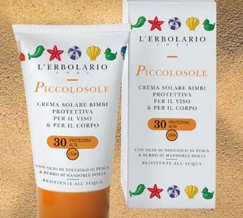 Детский солнцезащитный крем L` ERBOLARIO