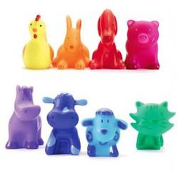 8 разноцветных животных DJECO