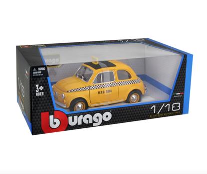 Машина Fiat 500 Taxi, Bburago