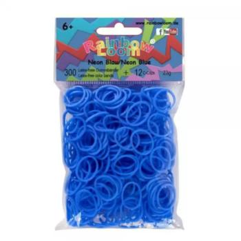 Голубые резинки RAINBOW LOOM