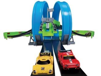 1:55 BB Трасса с 2-мя Треками и 2-мя инерц. машинами  (GO GEAR)