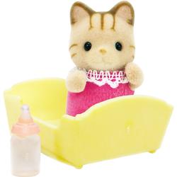 Sylvanian Families Набор Малыш полосатый котенок