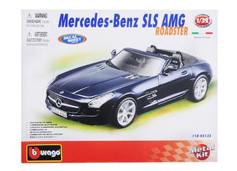 1:32 BB Машина СБОРКА MERCEDES-BENZ SLS AMG Roadster, Bburago