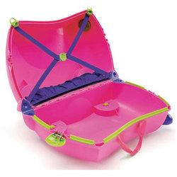Чемодан на колесиках розовый Trunki