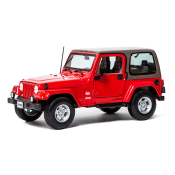 Машина Jeep Wrangler Sahara 1:18