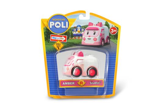 Эмбер металлическая машинка Robocar Poli