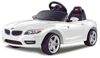 Электромобиль 6V BMW Z4 White