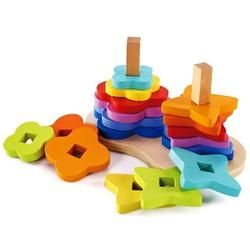 Игрушка деревянная конструктор Радуга Hape