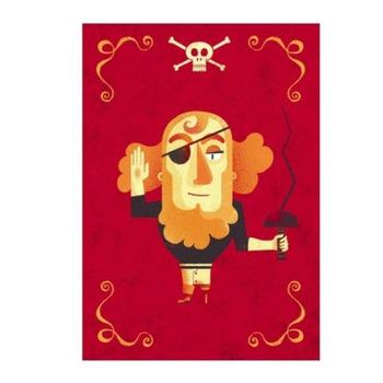 """Пригласительные открытки """"Пираты"""" DJECO"""