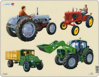 Пазл Трактор Larsen