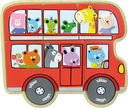 """Пазл """"Автобус"""" VILAC"""