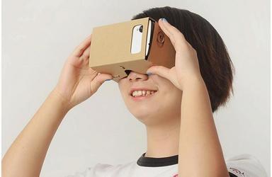 Google Cardboard VR картон BIG