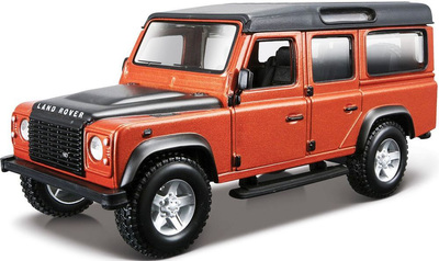 1:32 BB Машина СБОРКА LAND ROVER Defender 110, Bburago
