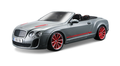 1:18 BB Машина СБОРКА BENTLEY Continental Supersports Convrtible ISR, Bburago