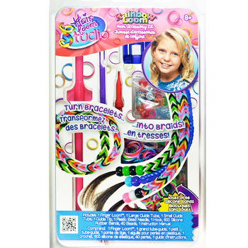 Набор для плетения на волосах Rainbow Loom