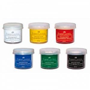 Пальчиковые краски Faber-Castell, 6шт
