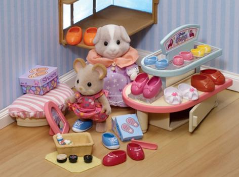 Sylvanian Families Набор Обувной магазин