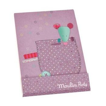 Фиолетовая записная книжка Moulin Roty