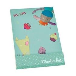 Синяя записная книжка Moulin Roty