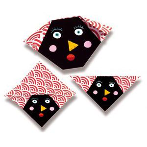Оригами Бумажные лица DJECO