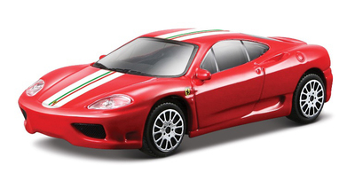 1:43 FER Машина СБОРКА Ferrari 360 Modena Challenge Stradale