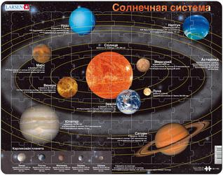 Пазл Солнечная система Larsen