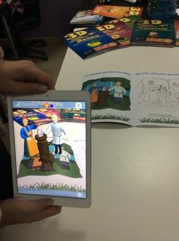 Devar Kids 3D-Раскраска Курочка Ряба