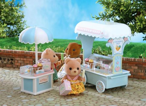 Sylvanian Families Набор Тележка с мороженым