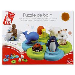 Игрушка-пазл для ванны Остров Vulli
