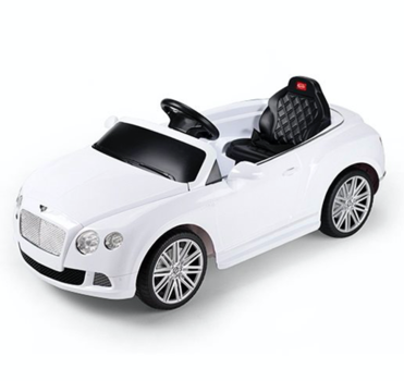 Электромобиль Bentley GTC White
