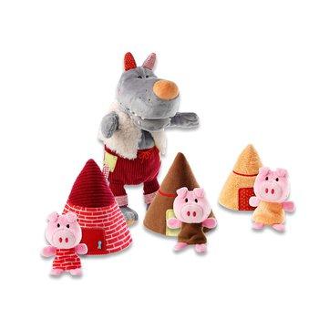 Пальчиковые игрушки Волк и три поросенка Lilliputiens