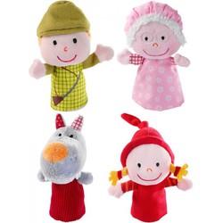 Пальчиковые игрушки Красная шапочка Lilliputiens
