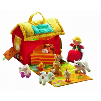 Набор игрушек На ферме, Lilliputiens