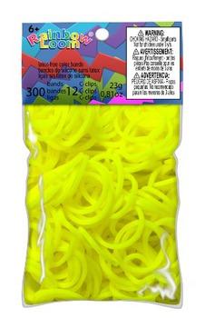 Желтые резинки RAINBOW LOOM