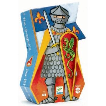 """Пазл """"Рыцарь и дракон"""" DJECO"""