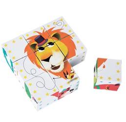 Кубики Цирковые животные Janod