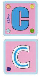 Набор карточек Алфавит, 66 шт. Знаток