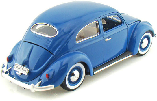Машина VW Kafer Beetle 1955 1:18