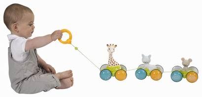 Жирафик Софи с друзьями Vulli