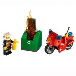 LEGO City Пожарный на мотоцикле