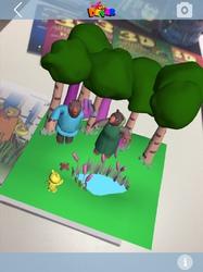Devar Kids 3D-Раскраска Три медведя