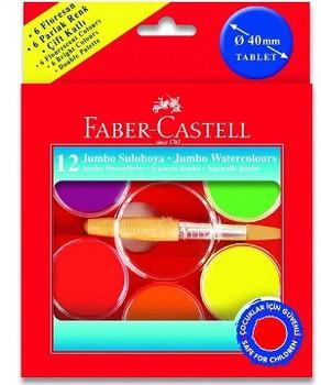 Краски Faber-Castell JUMBO,12шт