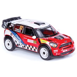 1:32 BB Машина РАЛЛИ WRC MINI Countryman WRC (Команда №52), Bburago