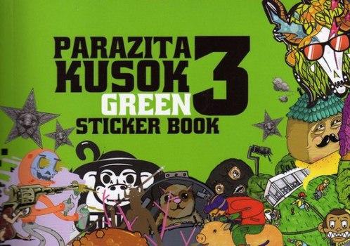 Стикербук Parazita Kusok 3
