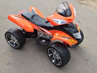 Детский электроквадроцикл оранж.