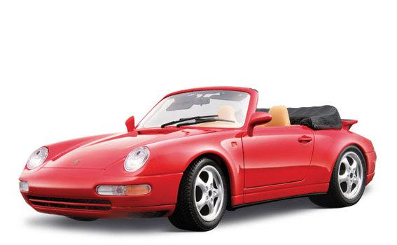 Порше 911 Каррера кабриолет (1994) Bburago