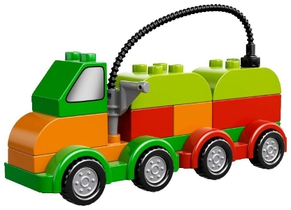 LEGO Duplo Машинки-трансформеры