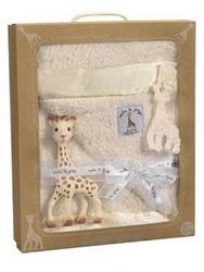 Набор жираф Софи с покрывалом Vulli