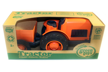 Трактор оранжевый Green Toys