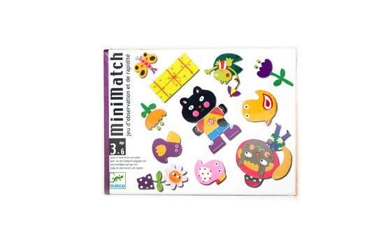 Карточная игра Миниматч DJECO